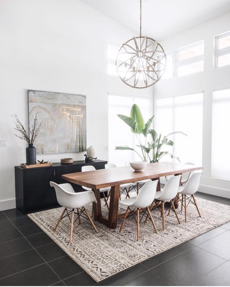 4 Principles for Creating the Perfect Dining Room - Jessica Elizabeth images