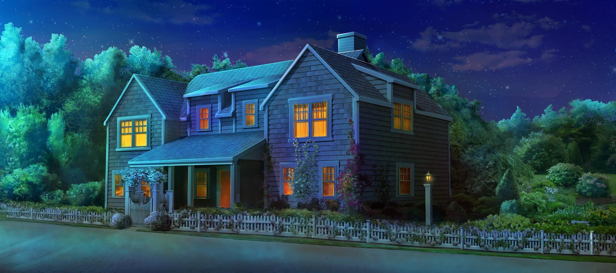 ext bristols house night episode hidden backgrounds