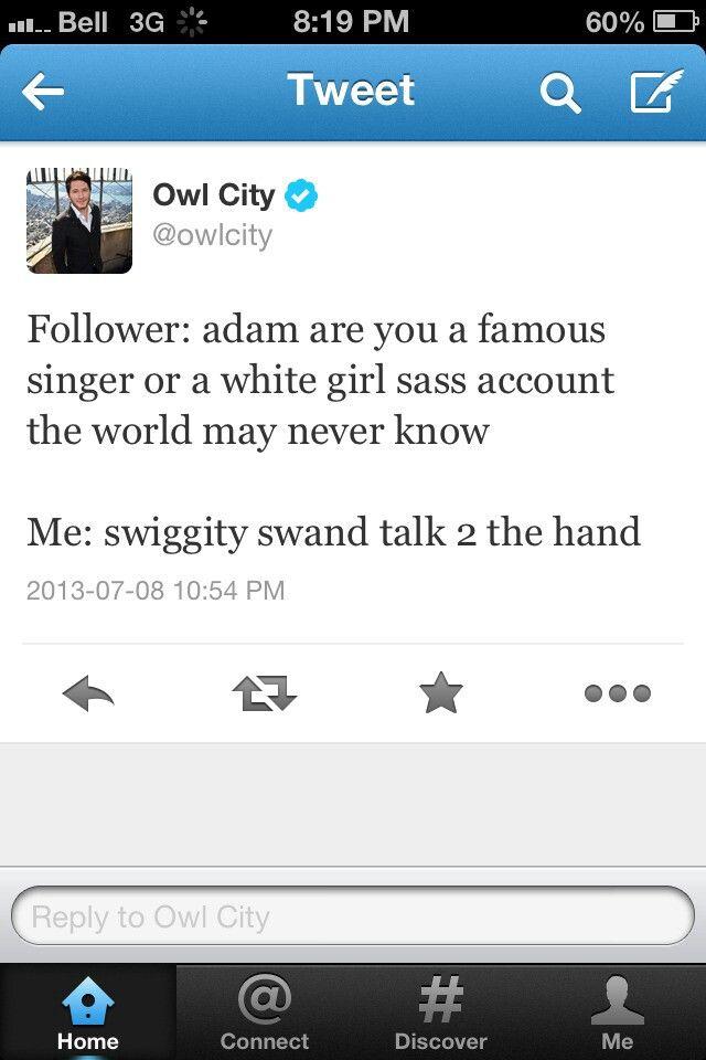 Owl City Tweet Owl City The Funny Make Me Laugh