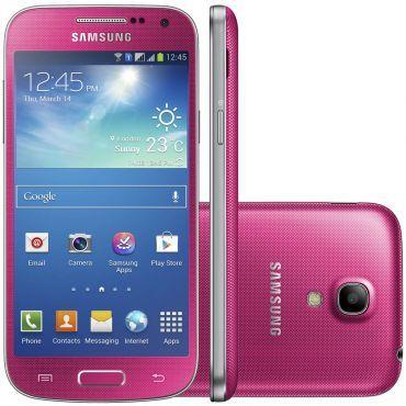 Samsung Galaxy S4 Mini Duos I9192 Rosa - Celular ...