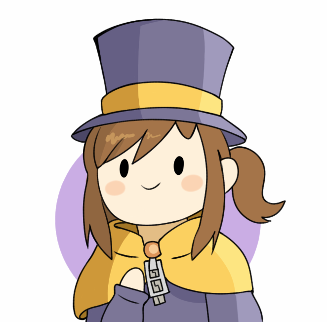 Hat Kid A Hat In Time By Shivoart A Hat In Time Cartoon Games Hats