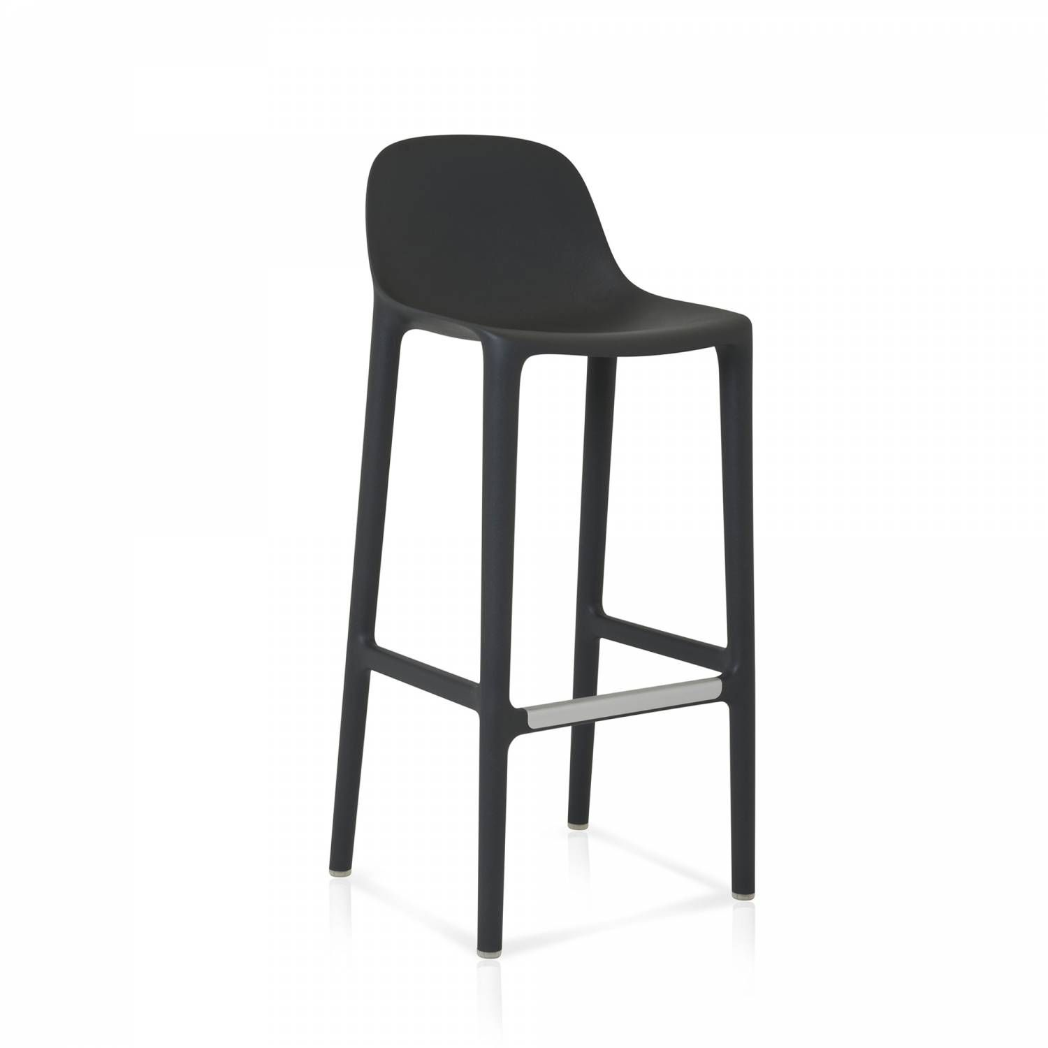 Broom 30 Barstool Imagine Says Philippe Starck A Guy Who Takes A Humble Broom And Starts To Clean The Workshop And With Emeco Modern Bar Stools Bar Stools