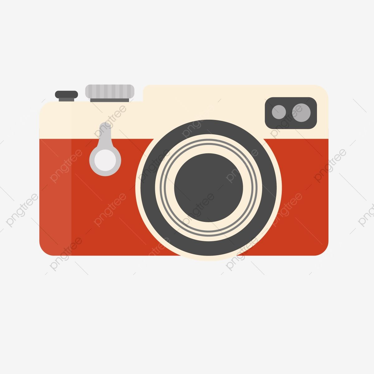 Red Vintage Camera Vector Clipart Camera Clipart Png Clipart Camera Png And Vector With Transparent Background For Free Download Instagram Logo Vintage Camera Vector Clipart