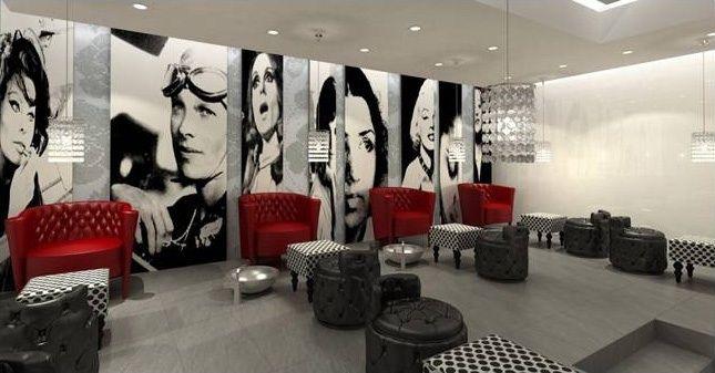 Hollywood Theme Salon Dubai