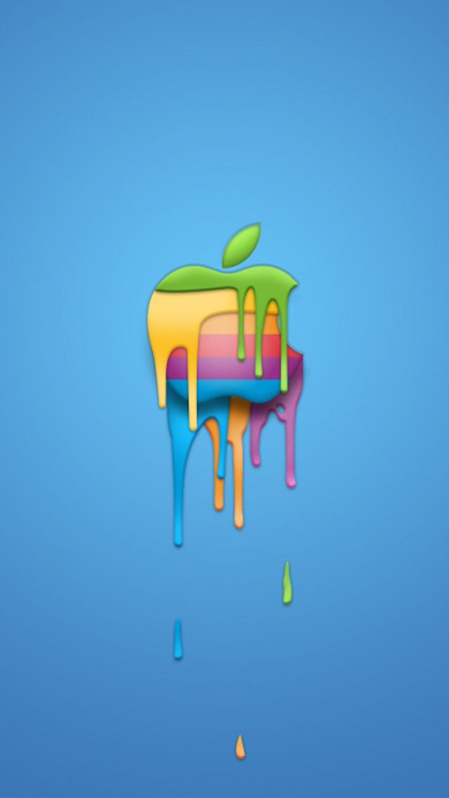 A Melting Apple Logo For Your Iphonewallpaper Find Out More