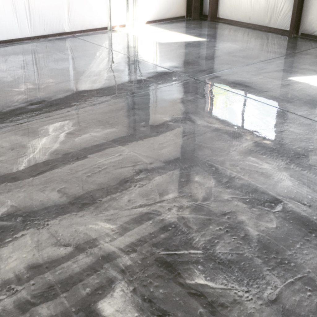 Metallic Epoxy Flooring System Home Garden Initiative