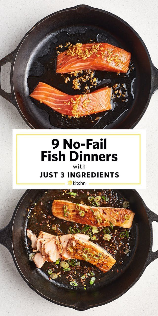 These 9 Fish Dinners Need Only 3 Ingredients and a Glance