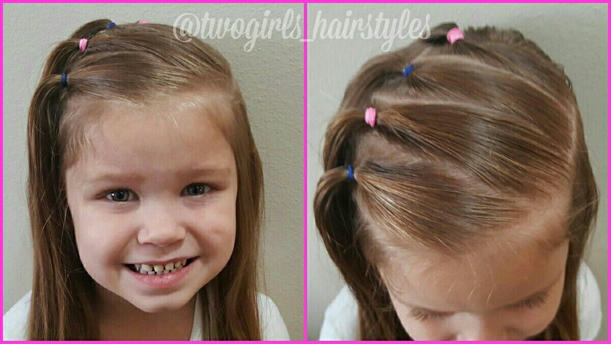 Another cute little girl hairstyle peinados para niñas pinterest