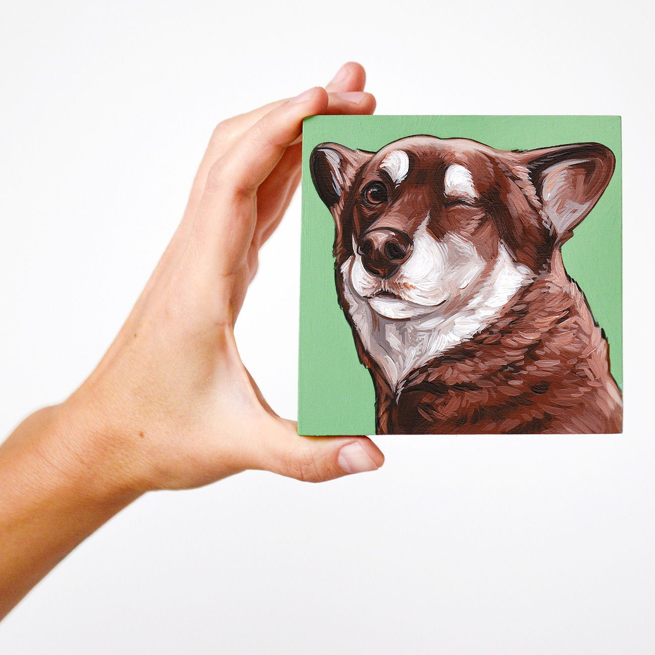Custom Pet Paintings By Yellow Brick Home The Pet Shop Pet Portraiture Custom Pet Painting Animal Paintings