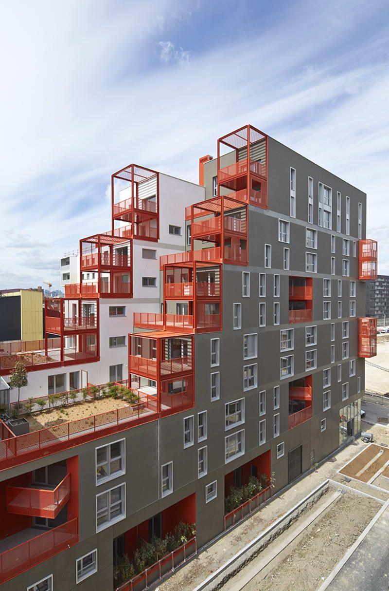 Atelier Du Pont · The Docks | ARCHITECT | Pinterest | Fassaden und ...