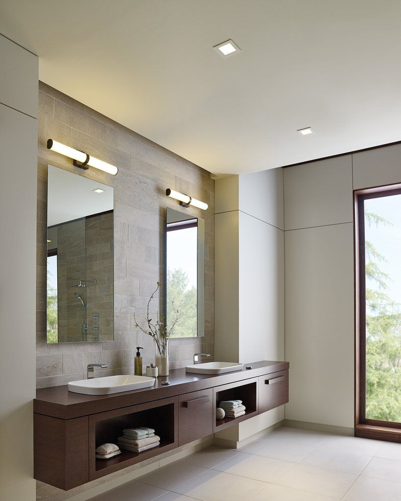 Lynk 24 Bath Fixture In 2020 Light Fixtures Bathroom Vanity Modern Bathroom Contemporary Bathroom Vanity