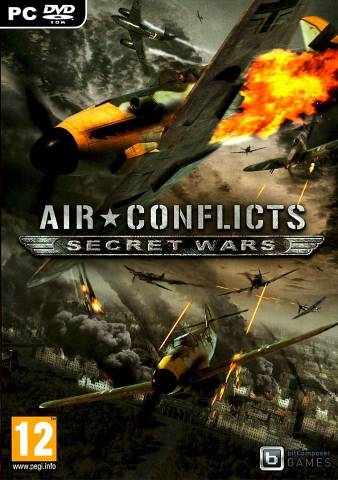 Download Air Conflicts Secret Wars Free Pc Game (With