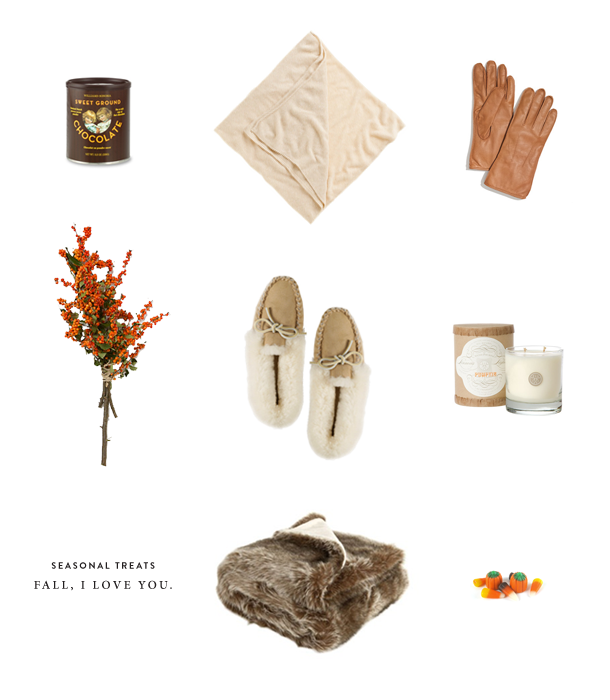 Autumn: cold weather must-haves