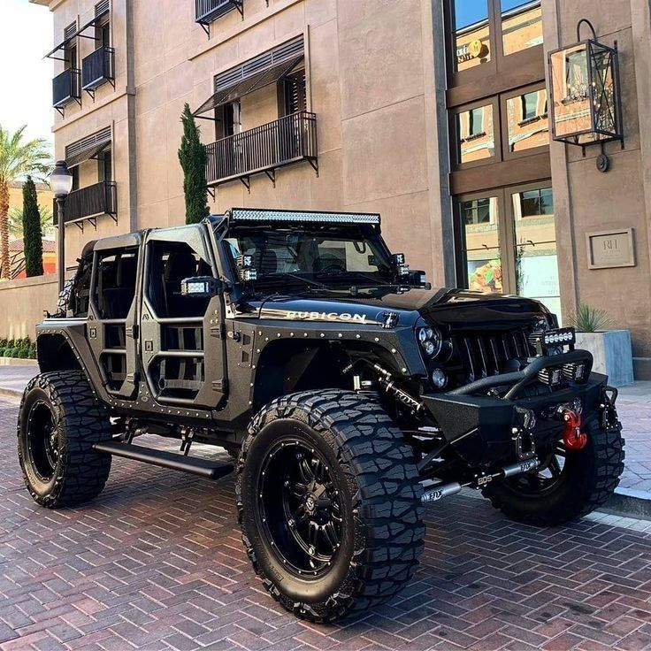 A collection of customized jeeps that I find cool and