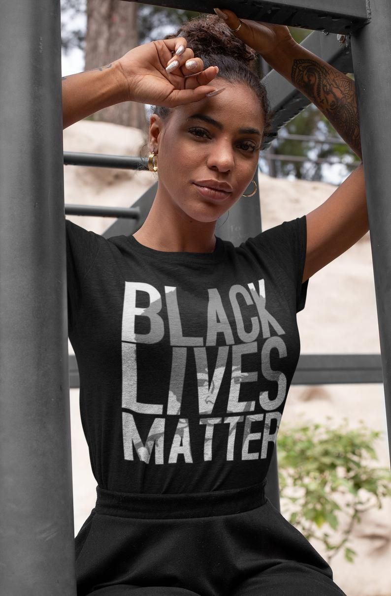Black Lives Matter TShirt BLM Shirt Civil Rights TShirt