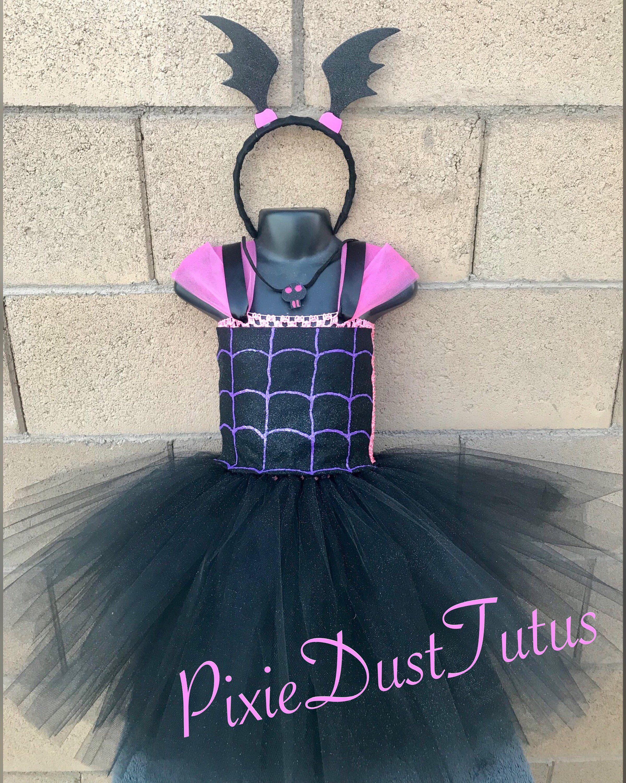 ad7de92f4 Vampirina Tutu Dress with Headband en 2019 | Fiesta de Vampirina ...