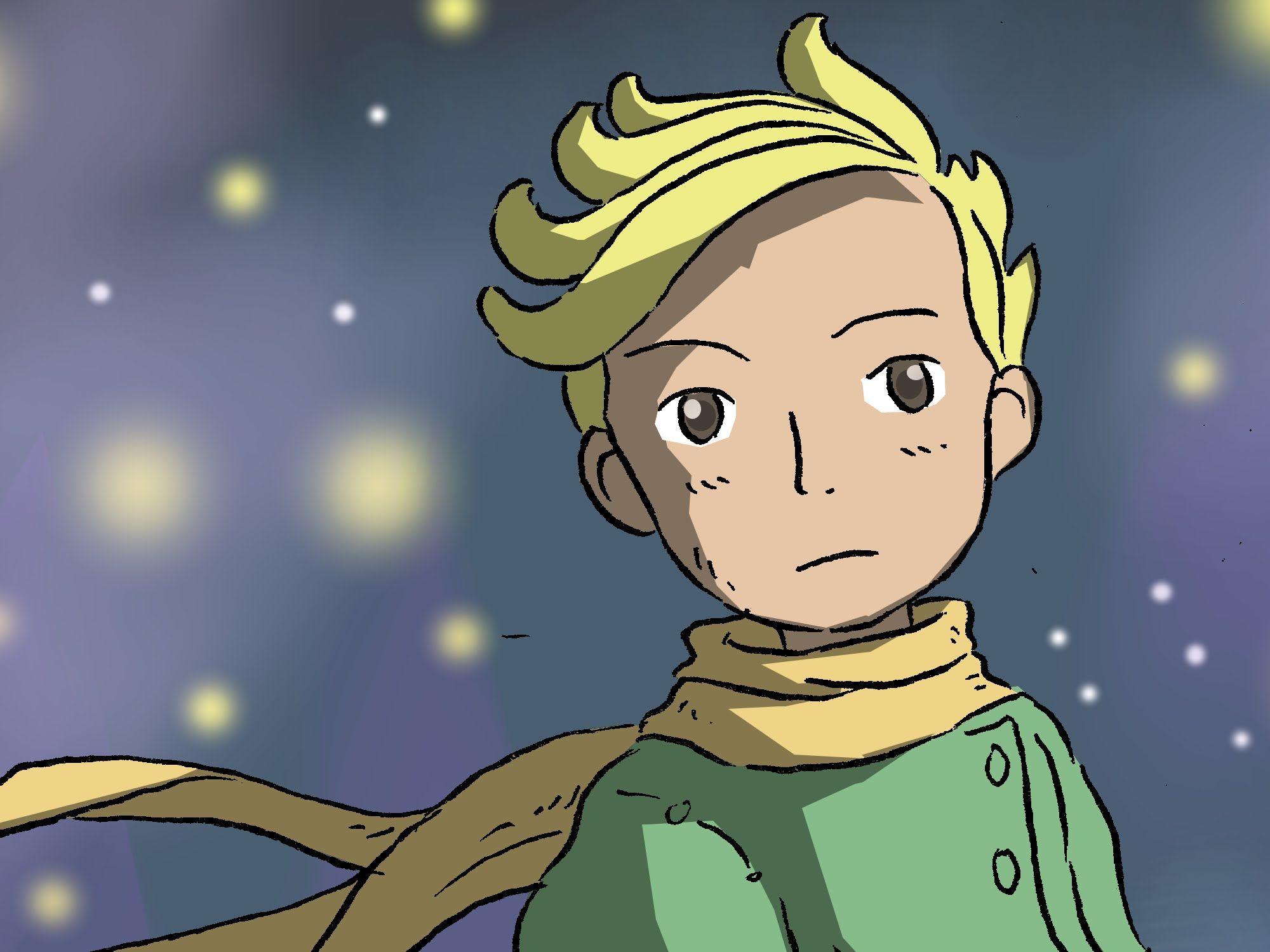 How To Draw The Little Prince | Dibujando a El Principito | Fan Art | Pe...