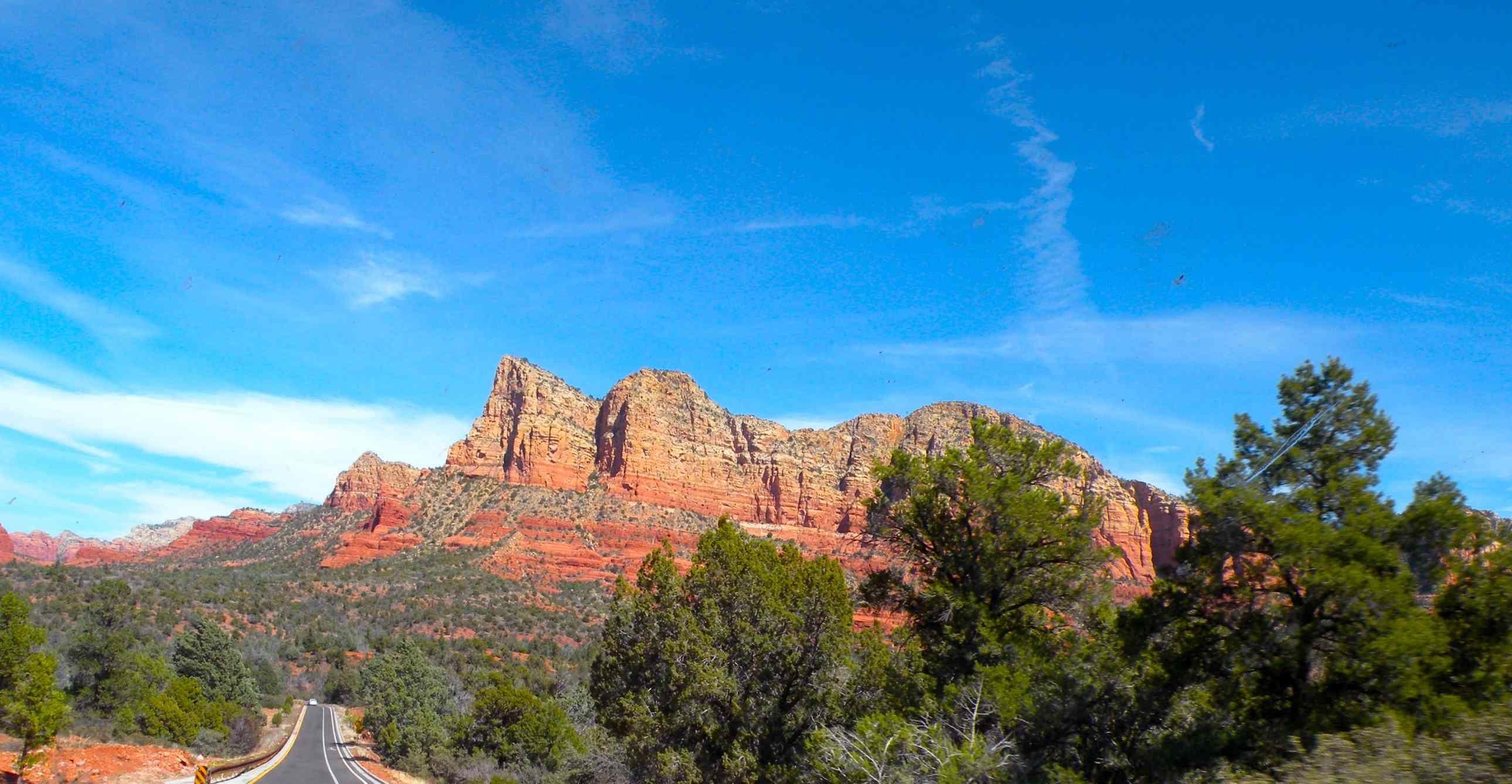 RVing Sedona Arizona Red Rock Canyons, Hot Air Balloons