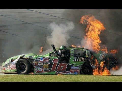 Top 5 HARDEST Crashes @ Chicagoland - YouTube