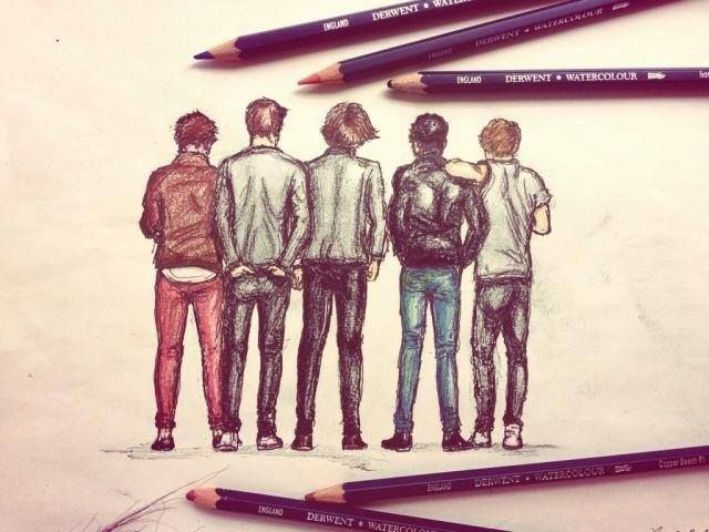 Pin De Jennifer Beamish Young En One Direction Arte De One Direction Dibujos De One Direction Letras De One Direction