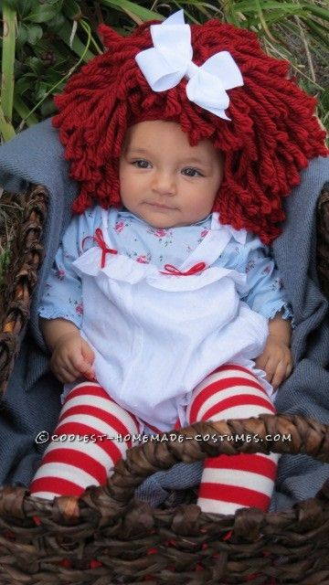 Mamas Little Baby Rag Doll Costume Coolest Homemade Costumes