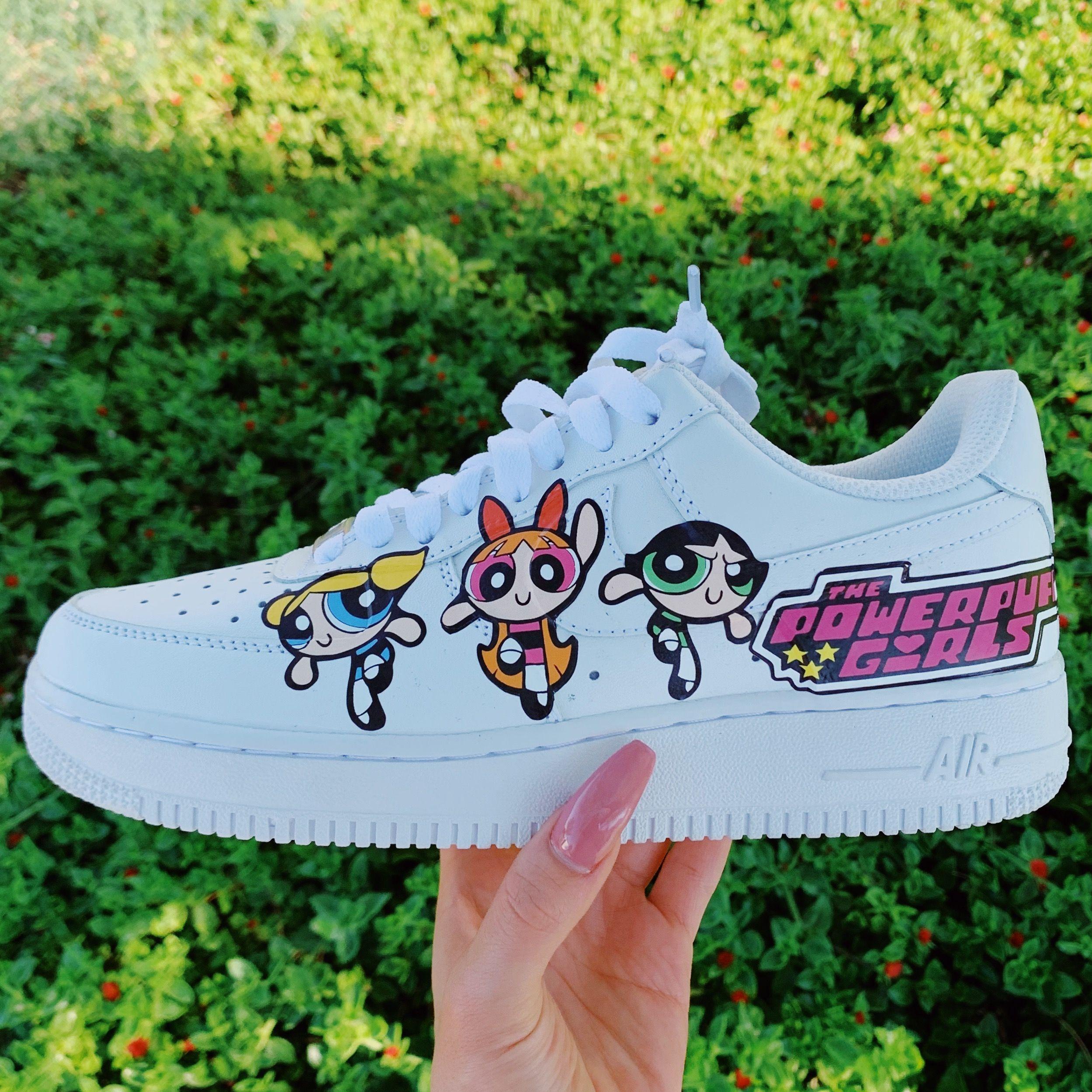 Powerpuff Girls Nike Shoes✨ | Custom