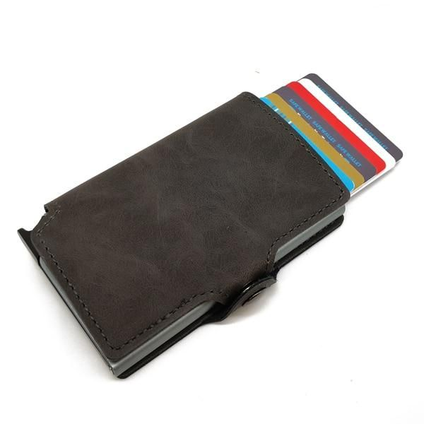Card Holder RFID Protector Aluminum Wallet Card Case