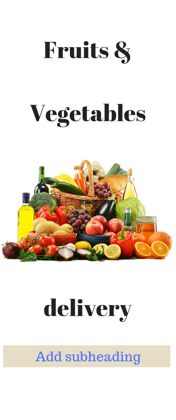 gghfhgh Vegetable delivery, Fruits & vegetables