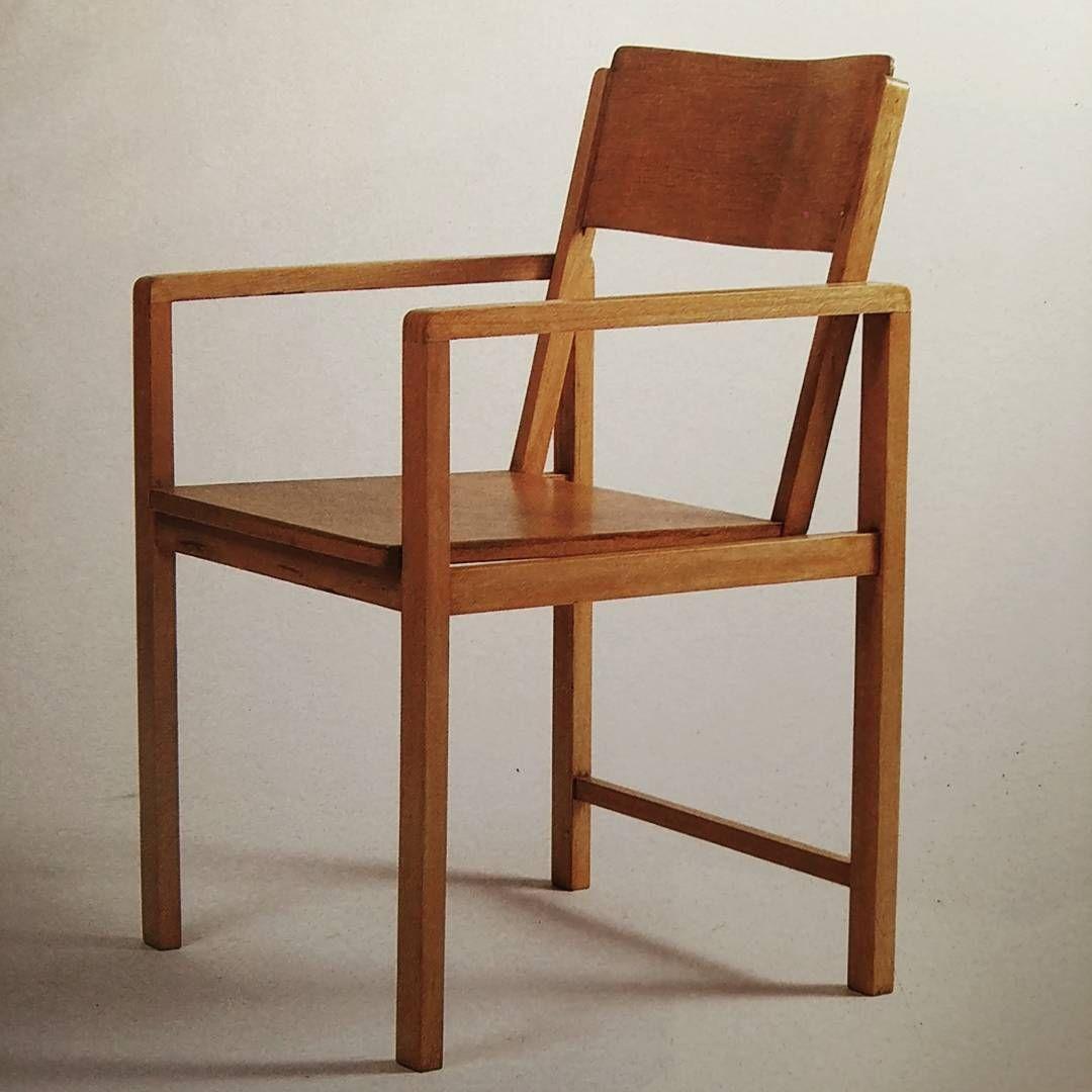 Chair 1928 from the book on Bauhaus designer Erich