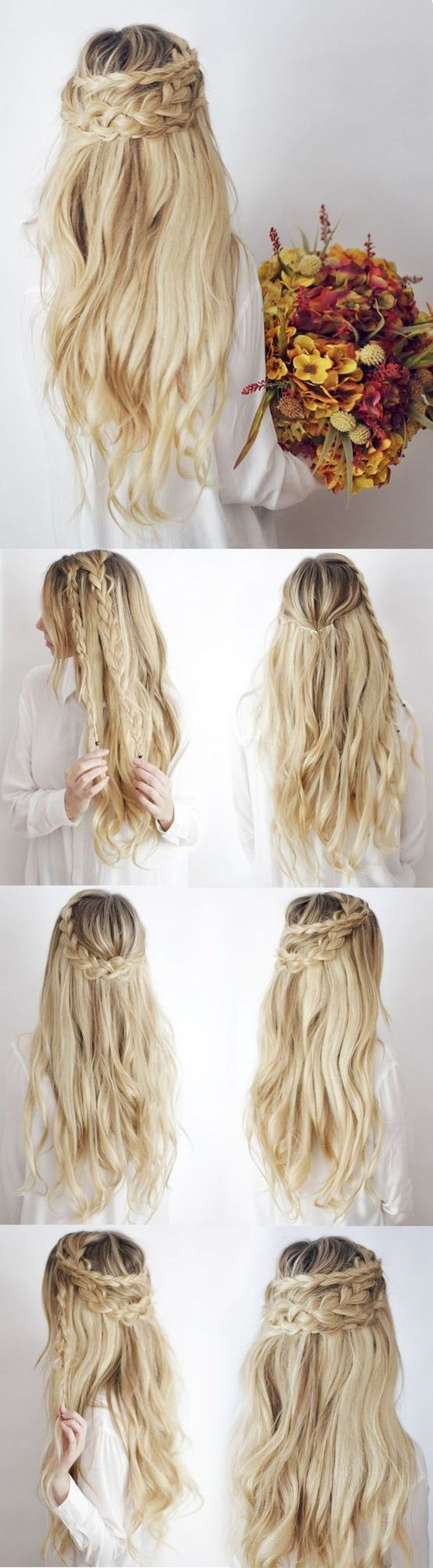 99+ Simple Wedding Hairstyles for Every Length   Simple wedding ...