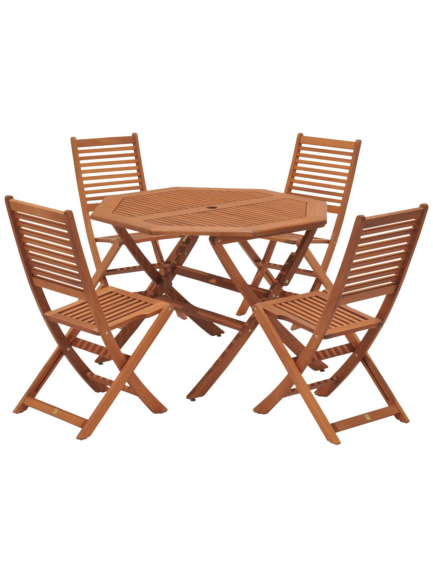 John Lewis & Partners Venice 10 Seater Garden Table & Chairs Set