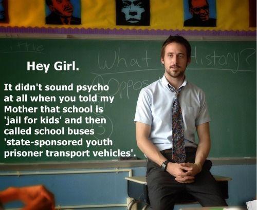 Great Job Funny Meme Ryan Gosling : Ryan gosling perfect student affairs boyfriend pb