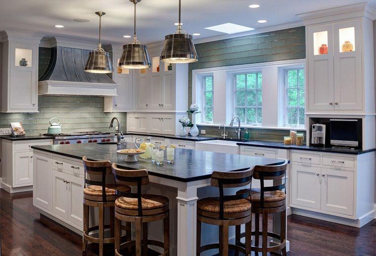 Cucine stile inglese isola centrale interior design