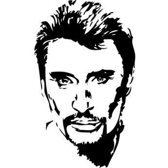 Stickers Johnny Hallyday Musique Chanteurs Groupes Etc