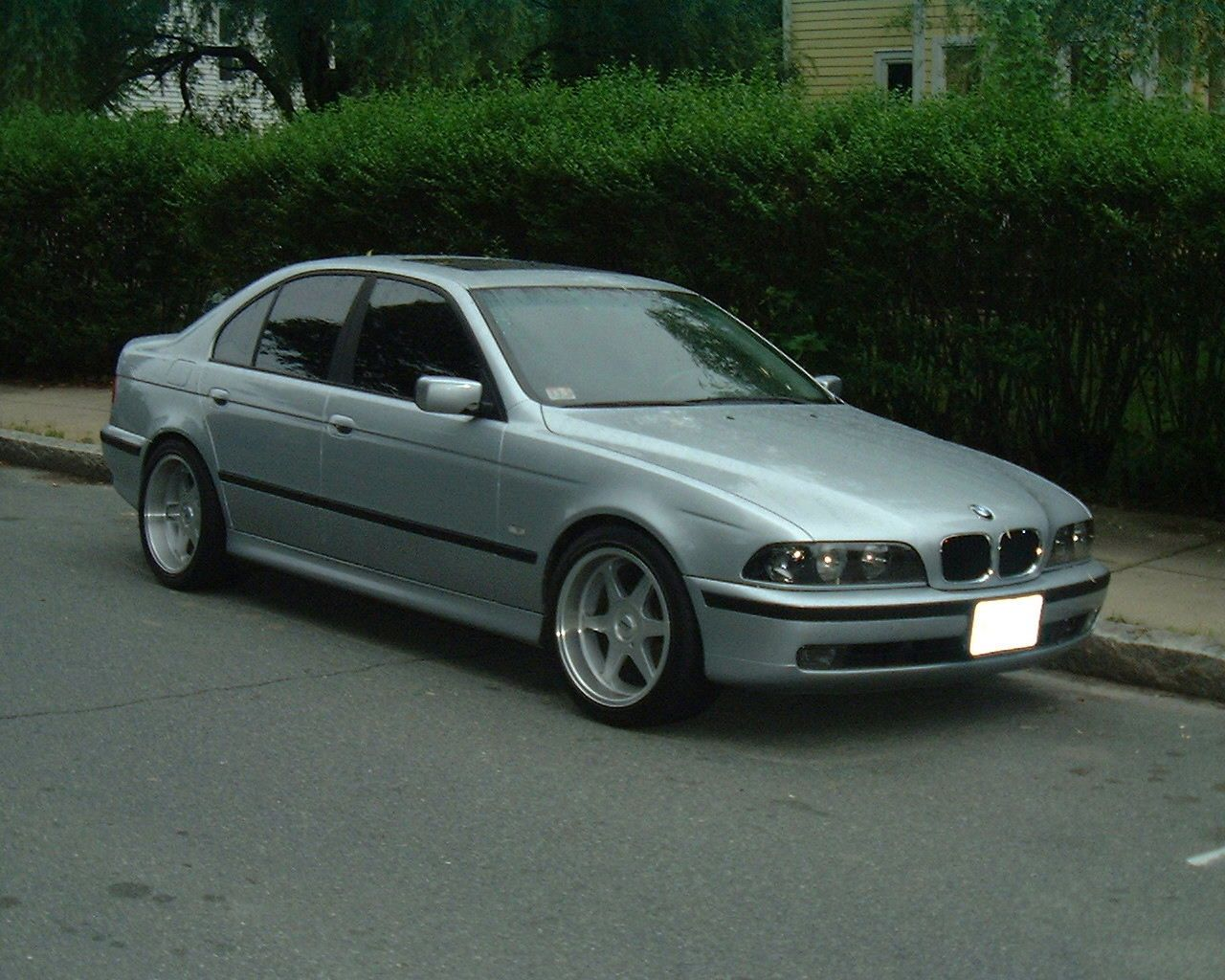 Bmw serie 5 touring restyling wedding
