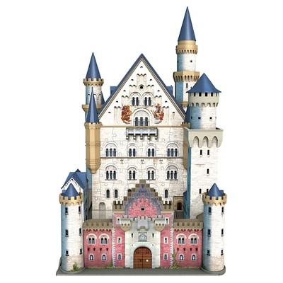 Ravensburger Neuschwanstein Castle 3d Puzzle 216pc Neuschwanstein Castle Castle Silhouette Castle