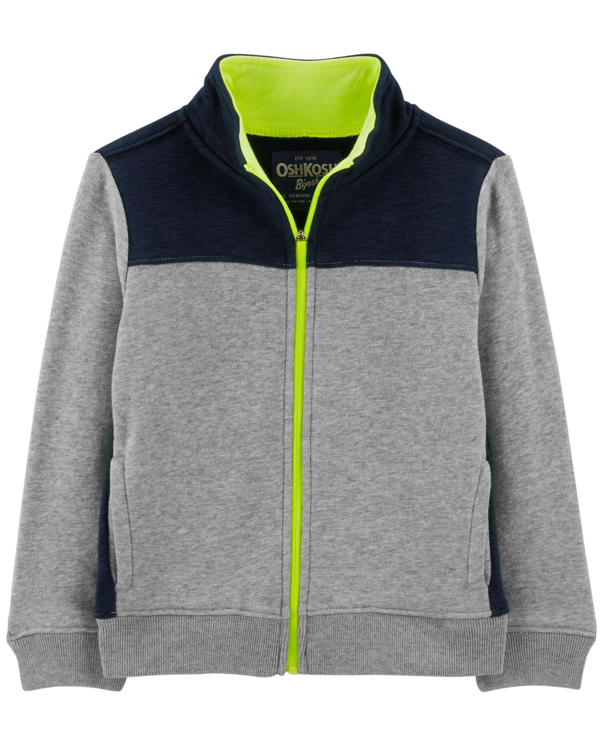 Toddler Boy Colorblock Active Jacket Oshkosh Com Boy Outerwear Fall Activewear Toddler Boys [ 2500 x 2000 Pixel ]