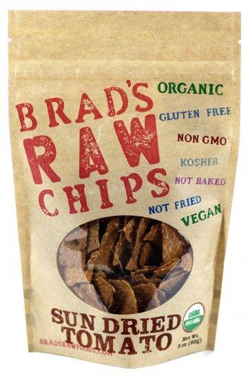 Brad's Raw Veggie Chips: Sun Dried Tomato | Brad's Raw Foods