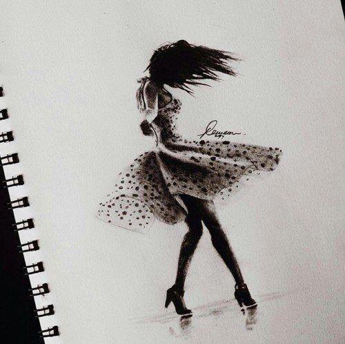 صور رسومات ملونه رسومات بنات صور مرسومه Illustration Teckning
