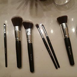Amazon Com Customer Reviews Travel Makeup Brush Set Professional Kit With 6 Essential Face And Ey Eye Makeup Brushes Makeup Brush Set Travel Makeup Brushes