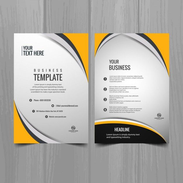 Brochura modelo de negcio moderno hojas membretadas pinterest free business card design business flyer templates brochure template brochure design creative cheaphphosting Choice Image