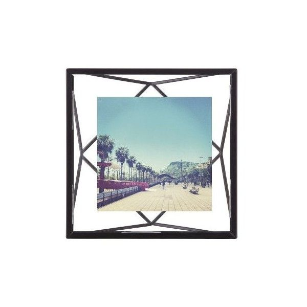 Umbra Prisma 4x4 Photo Display ($10) ❤ liked on Polyvore featuring home, home decor, frames, black, decor, 8x10 frames, 8x10 picture frames, 5x7 black picture frames, 5x7 frames and black home decor