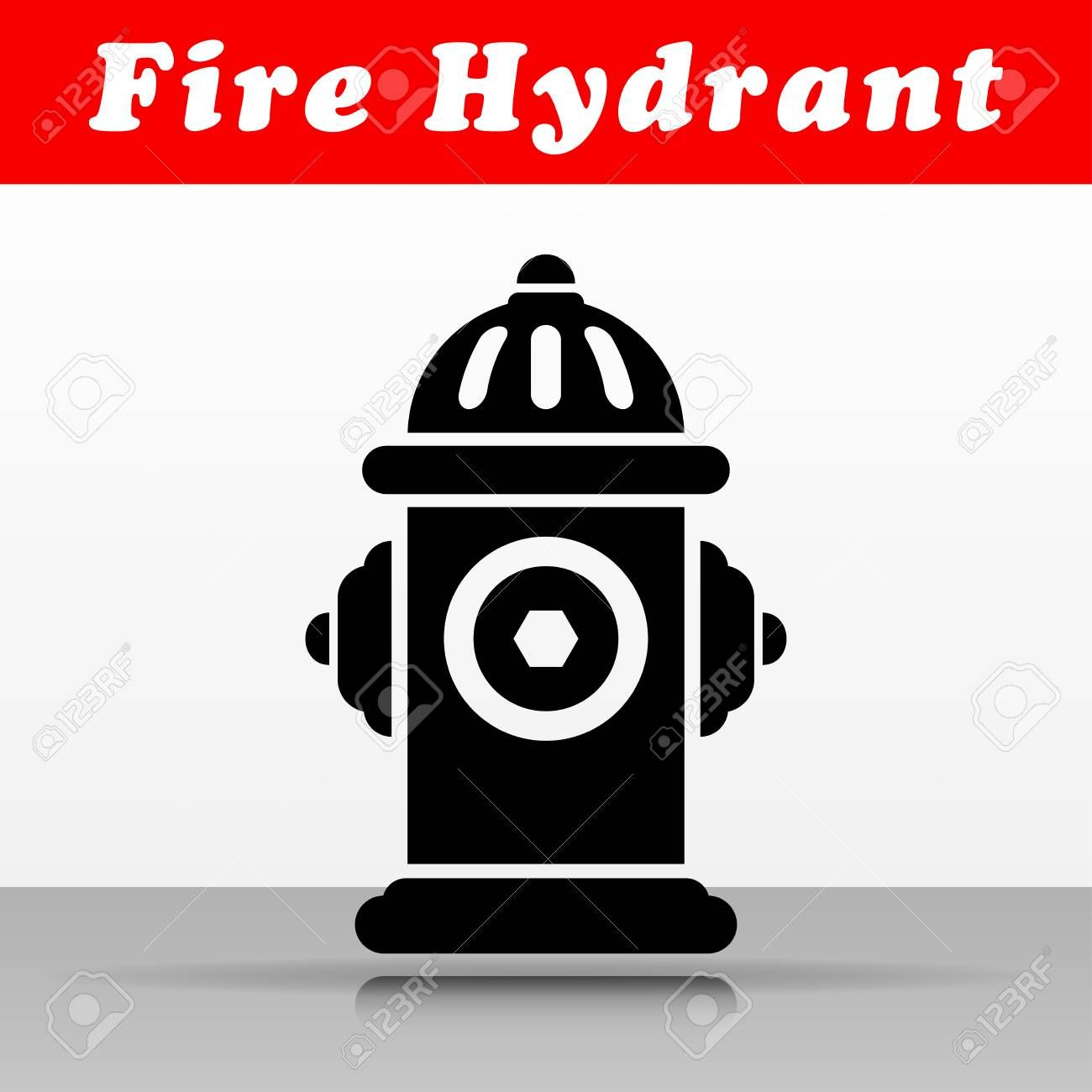 Illustration Of Fire Hydrant Vector Icon Design Ad Hydrant Fire Illustration Design Icon Vector Icon Design Icon Design Hydrant