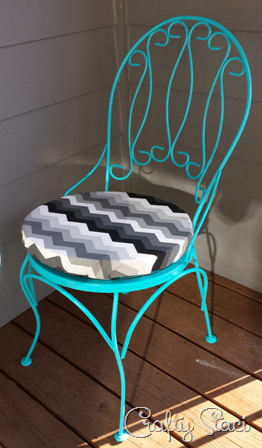 Easy Round Cushion Covers Crafty Staci Round Chair Cushions Seat Cushions Diy Round Cushion