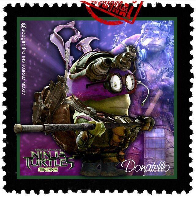 Teenage mutant ninja turtles donatello minions - Mechant tortues ninja ...