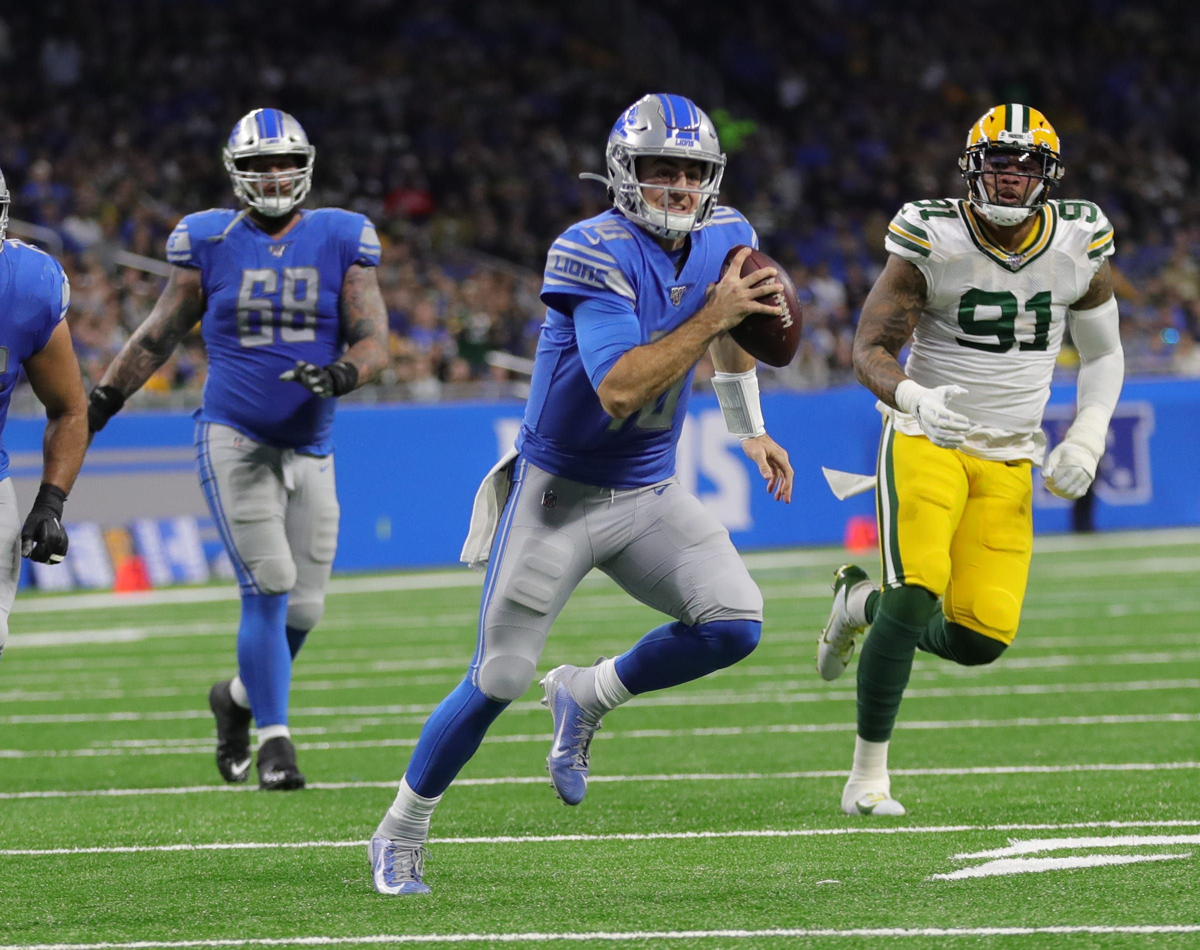 Detroit Lions blow finale to Packers, 2320, will pick 2nd