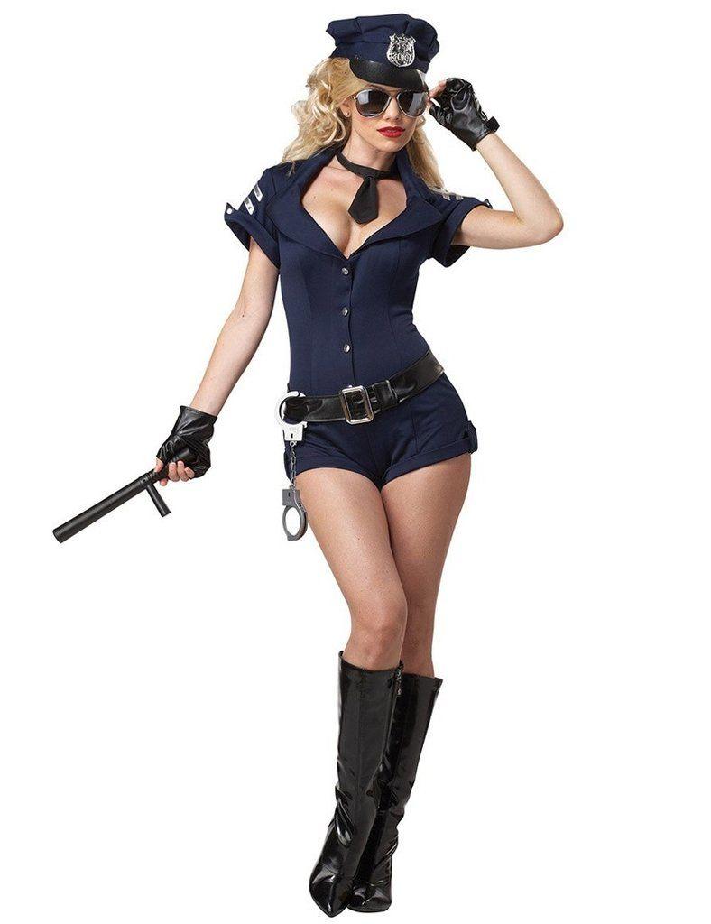 sexy Costume police romper