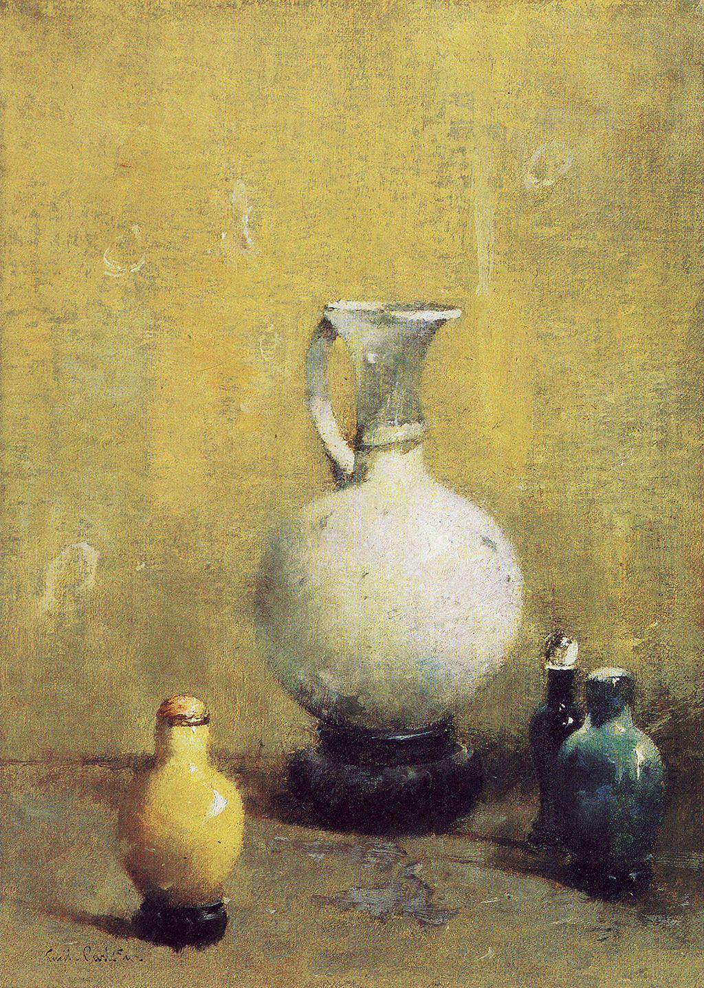 Emil carlsen still life with ceramic vase c1913 nature morte emil carlsen still life with ceramic vase c1913 reviewsmspy