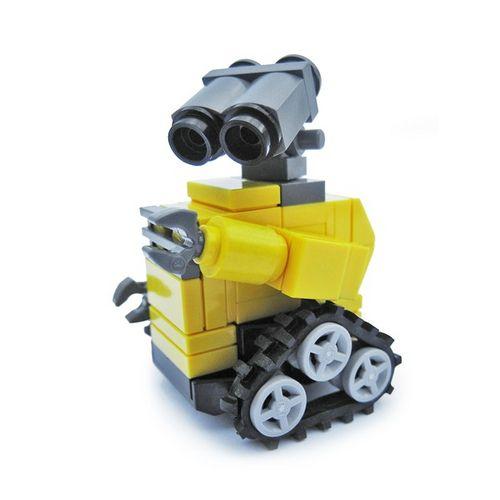 Simple Lego Wall E Flickr Photo Sharing Lego Pinterest