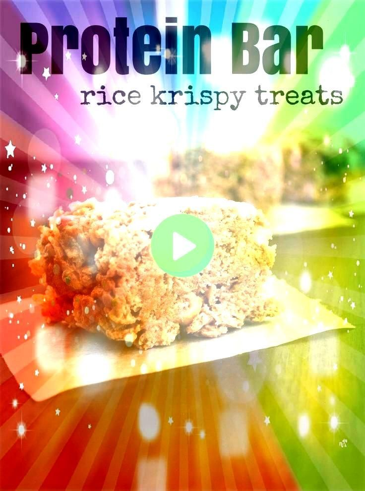 Rice Krispy Treats  I am not sure we can call these Mallow and Co Protein Bar Rice Krispy Treats  I am not sure we can call these and Co Protein Bar Rice Krispy Treats  I...